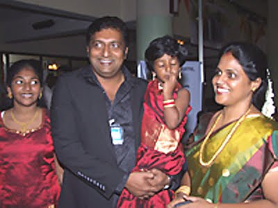 PrakashaRaj Family Pictures