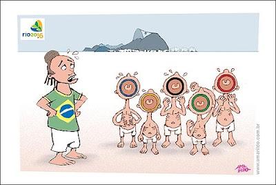 Arcos Aneis Olimpicos Rio de Janeiro