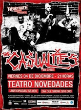 The Casualties en Chile