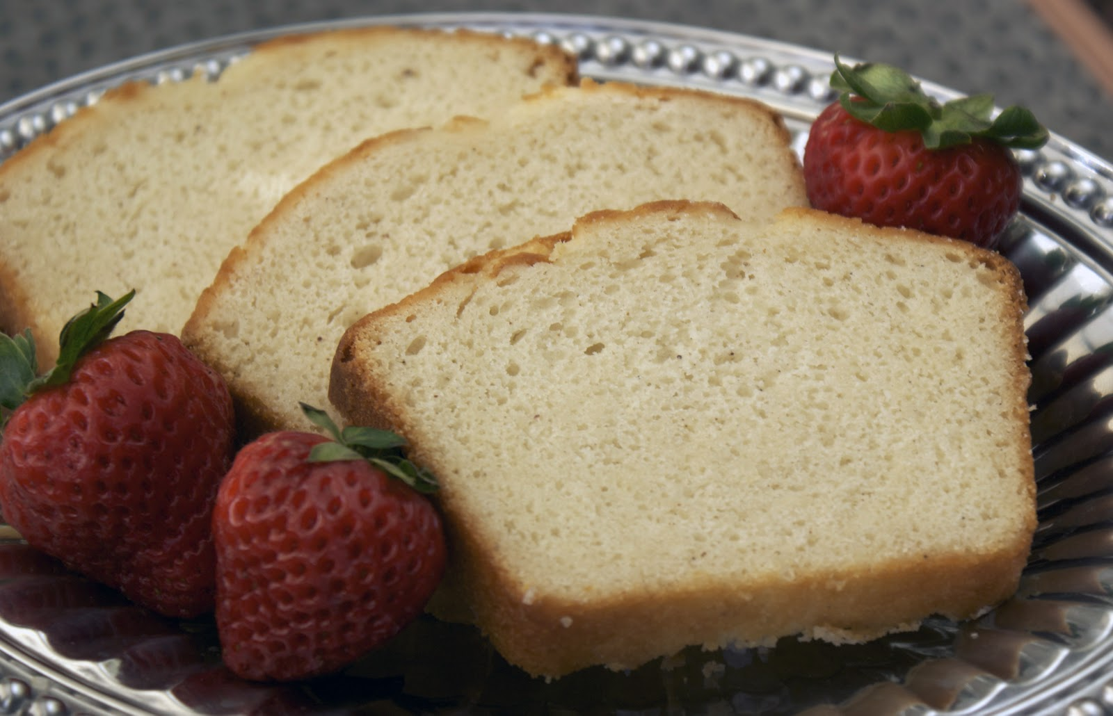 Mom's Favorite Pound Cake ~ Heat Oven to 350