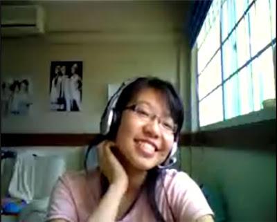 Ashita No Tenki Naare: Webcam with Sherine Chua...