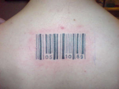 Barcode Tattoo on Barcode Tattoos