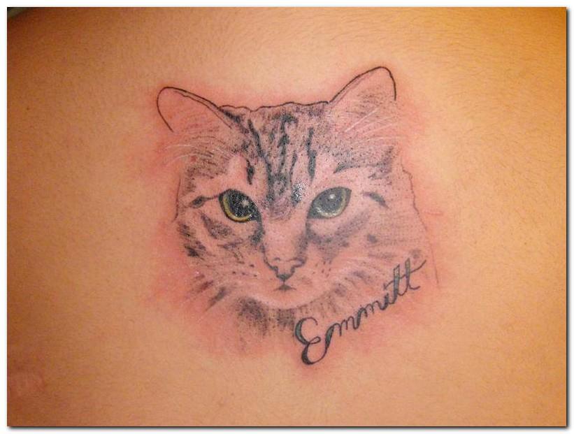 Cat Paw Print Tattoos