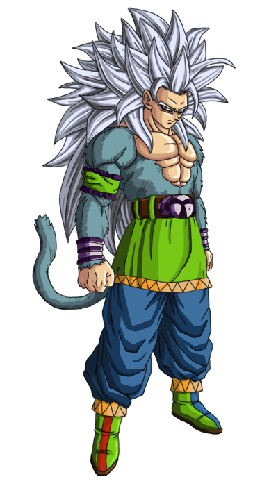 dragon ball z goku super saiyan 5
