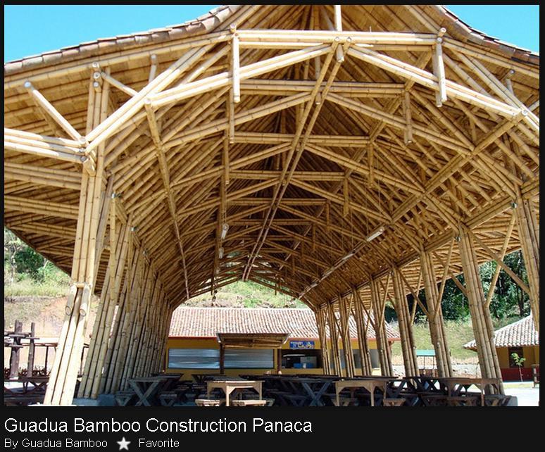 a penjelasan konstruksi bambu