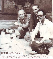 سه دوست شاعر در یک پیک نیک