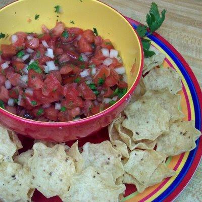 The Allergic Kid: Zesty Tomato Salsa