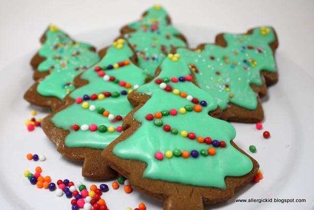The Allergic Kid: Soft and Spicy Gingerbread Cookies