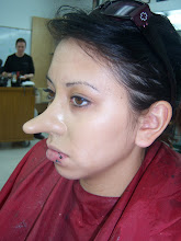 Nose Prosthetic Application
