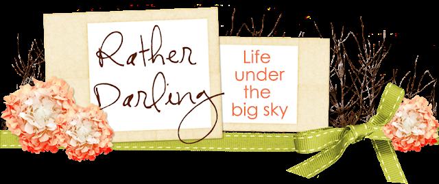Rather Darling Blog Design