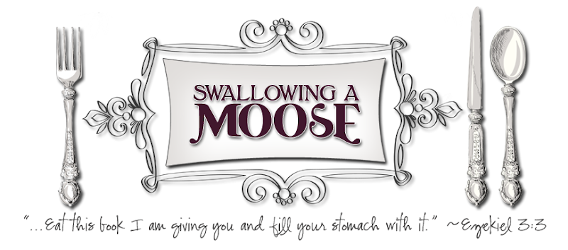 Swallowing a Moose Blog Design