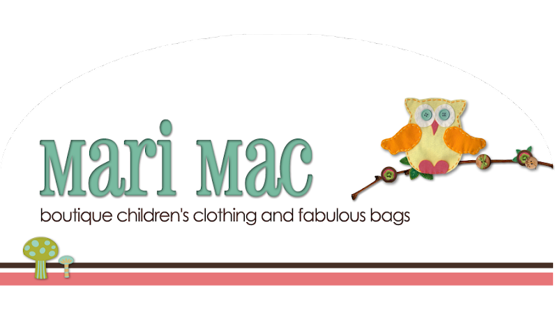 Mari Mac Kids Blog Design