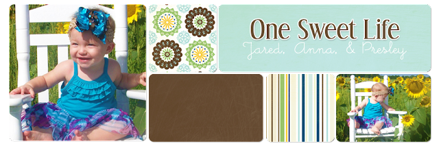 One Sweet Life Blog Design