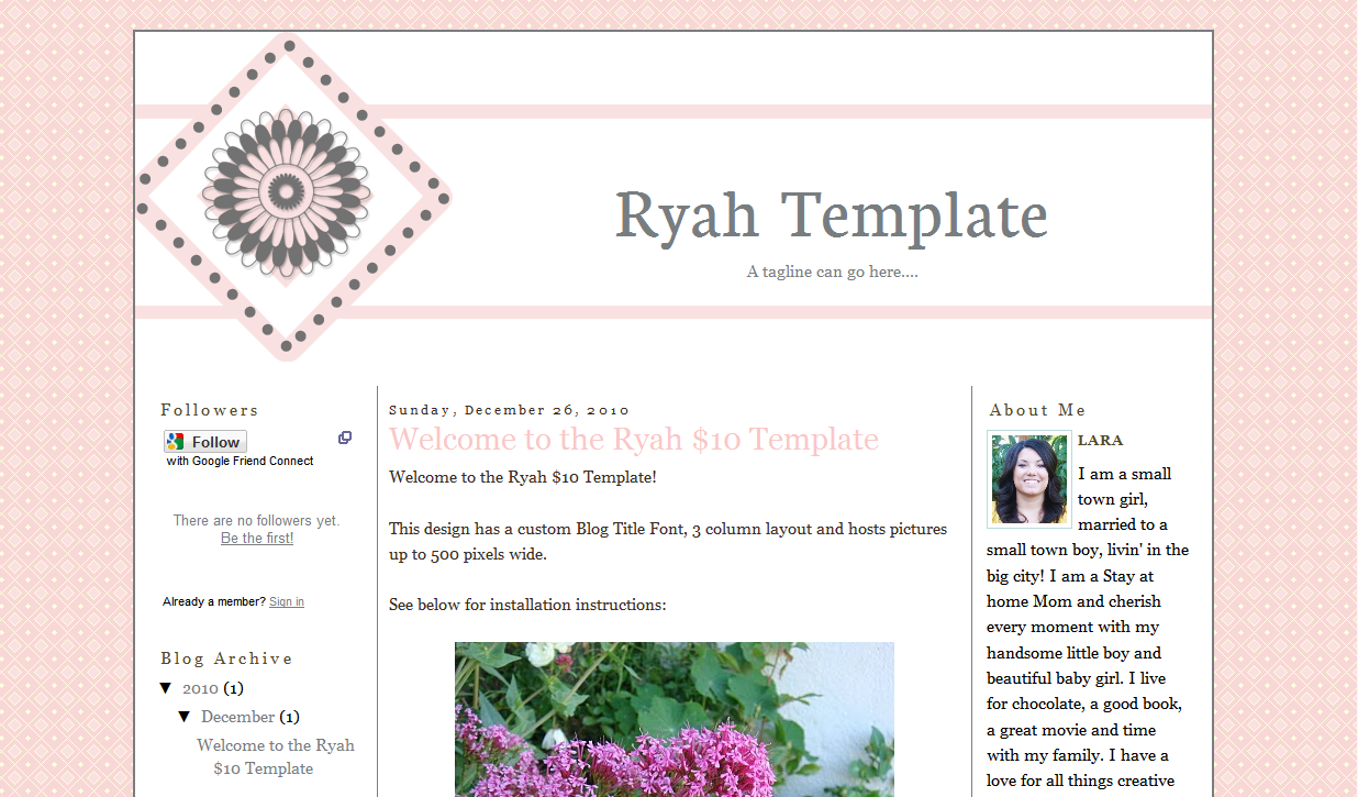 Ryah Blog Template