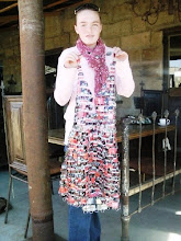 Matric Dress made from beer cans