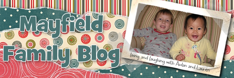Mayfield Family Blog