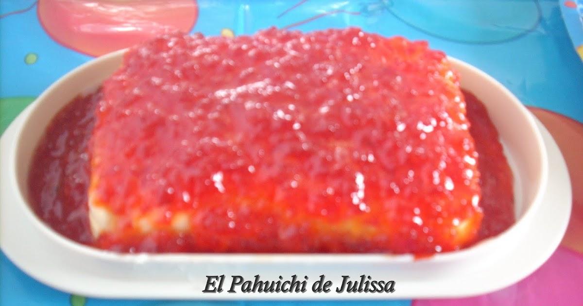 El pahuichi de julissa mermelada de pimiento rojo con - Como hacer mermelada de pimientos ...