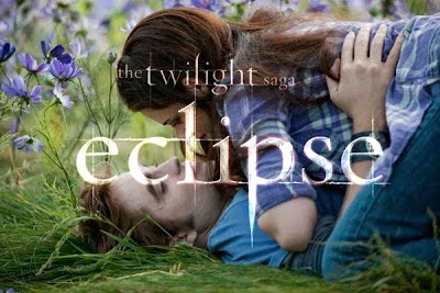 The movie Twilight Eclipse directed by David Slade and starring Robert Pattinson, Kristen Stewart and Taylor Lautner