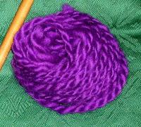 My purple yarn