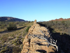 """natural """"fortification"""" west McDonald ranges, NT"""