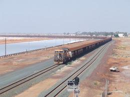 ore train, Pt Hedland,WA