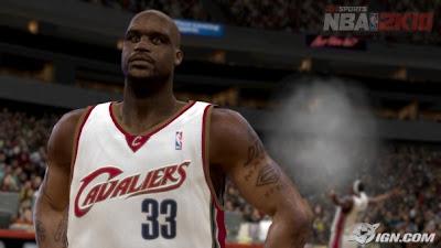 NBA 2k10 pre-game