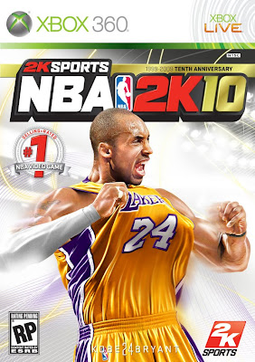 NBA 2k10 Kobe Bryant cover