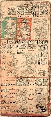 codice maya Dresde