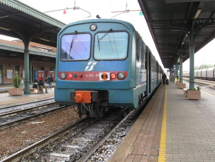 Ale 582 Regionale per Milano Porto Garibaldi