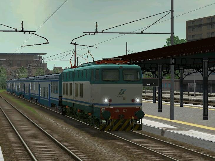e656.577 treno regionale