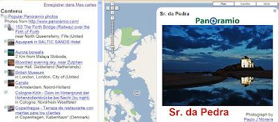liens reseaux dans googlle maps