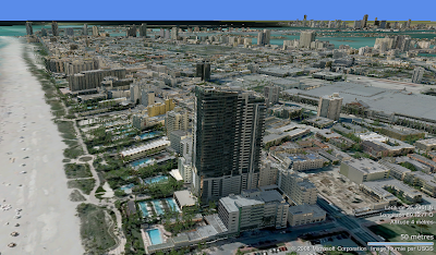 miami beach en 3d vurtual earth