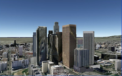 villes en 3D dans Google Earth