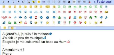 Utiliser des émoticônes dans Gmail