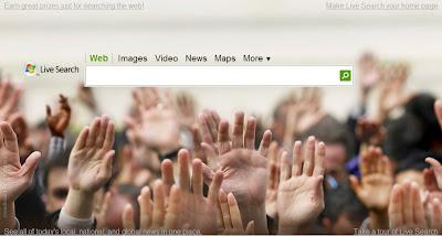 Live Search Elections américaines de 2008