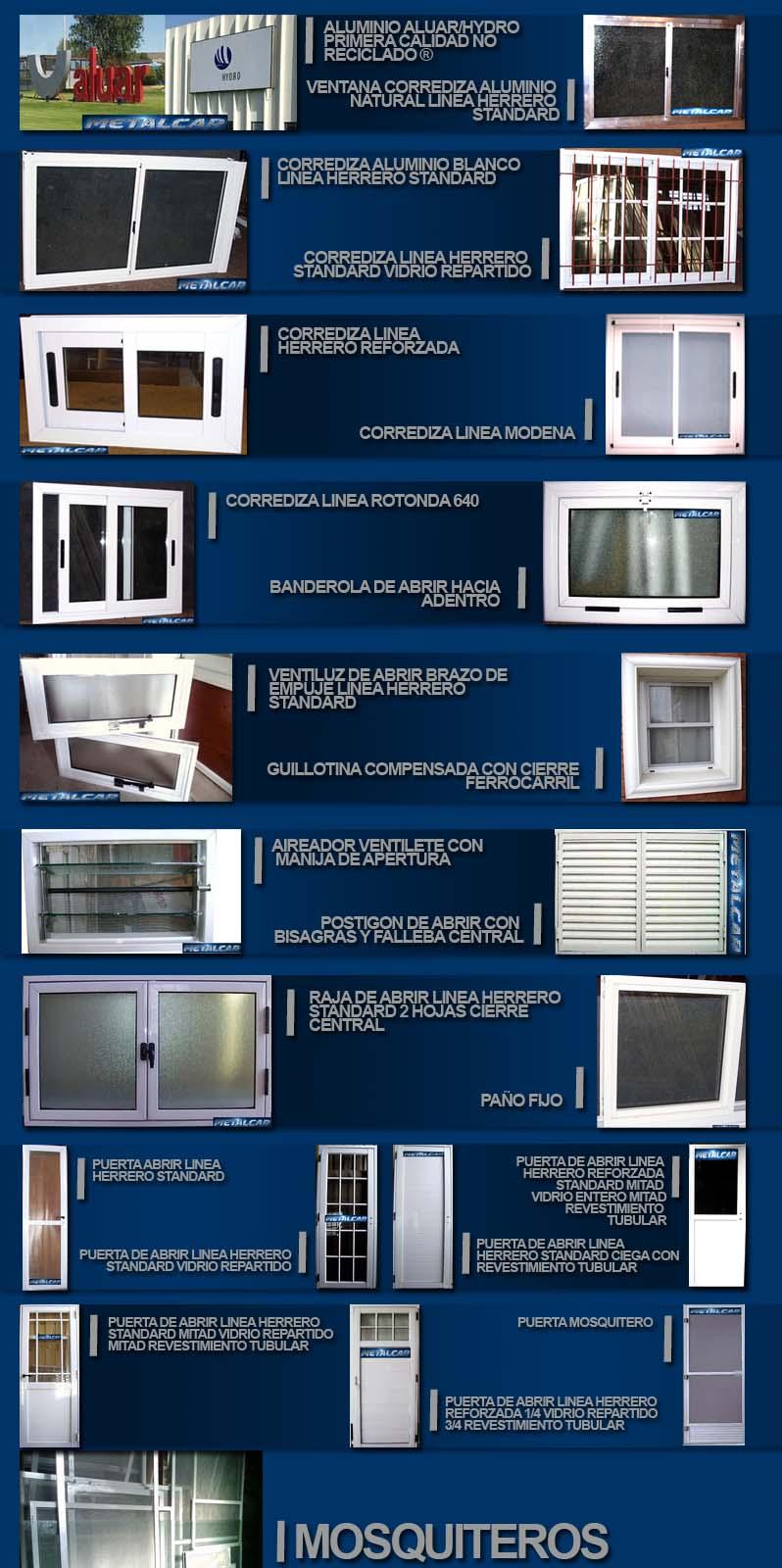 Metalcar aberturas de aluminio for Aberturas de aluminio precios en la plata