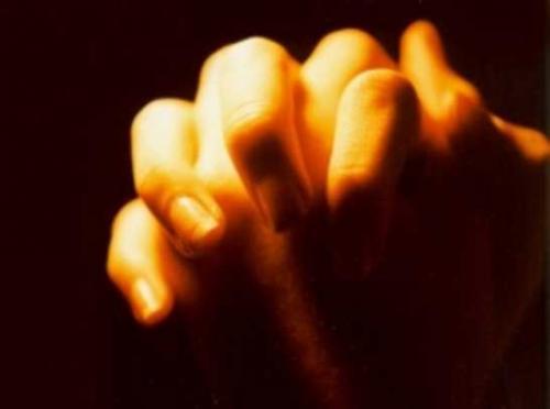 Fé...esperança e oração...