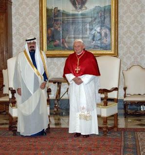 Visita histórica del Rey de Arabia al Vaticano