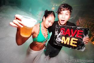Gambar Bogel Aksi Parti Buih (Bubble Party) in Malaysia   Melayu Boleh.Com