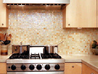 recycled glass tiles come in sheets of mosiac enabling you to create