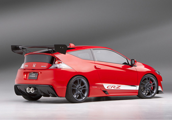 Honda CR-Z Hybrid R Concept. Posted by bb at 1:11 PM. Labels: Honda