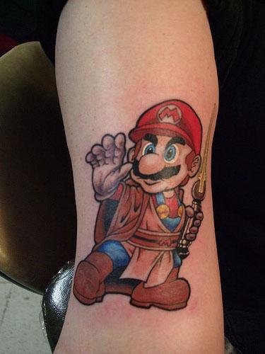 tatuajes de hongos. Fotos de Tatuaje de Mario Bros - Punksunidos.com.ar