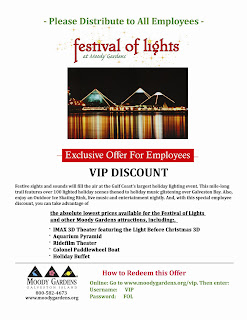 Festive lights coupon