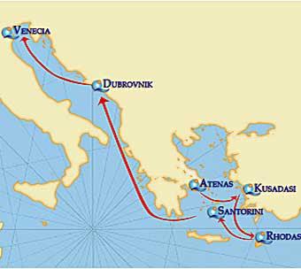 Crucero Adriatico,Quail Cruises