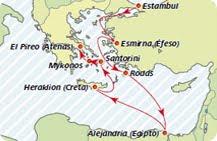Crucero Egeo,Turquia y Egipto,Iberocruceros