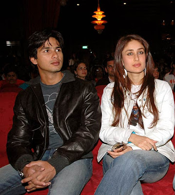 Shahid kapoor and kareena