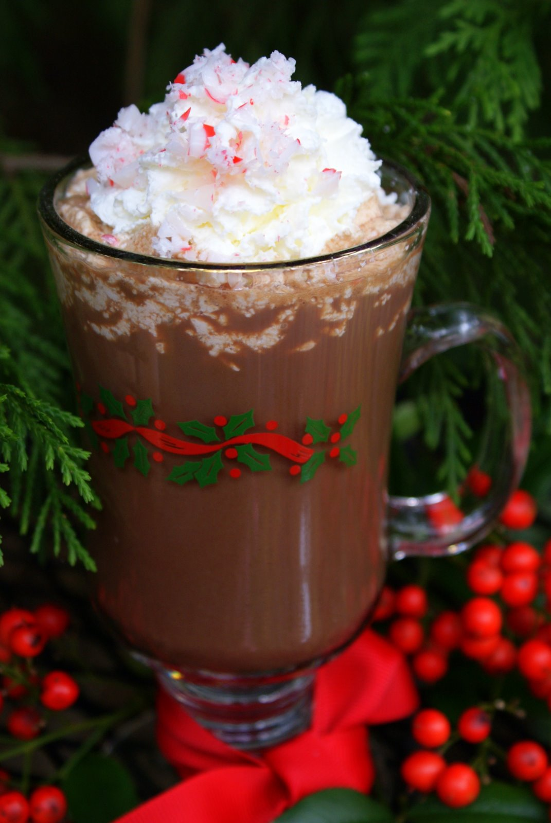 Little Loveliness: Peppermint Hot Chocolate