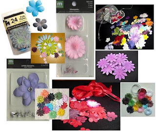 Fairy Crafts Silk Flowers http://www.fairystuff.blogspot.com/