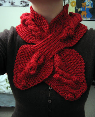 Knitting Pattern Ascot Scarf : ASCOT SCARF PATTERN   FREE Knitting PATTERNS