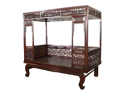 otherwise occupied antique canopy beds
